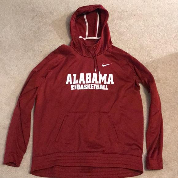 wholesale dealer dade4 ed4dd Alabama Nike Basketball Hoodie